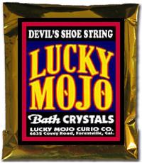Lucky Mojo Curio Co.: Devil's Shoe String Bath Crystals