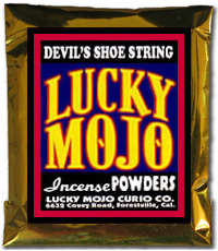 Lucky Mojo Curio Co.: Devil's Shoe String Incense Powder
