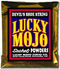 Lucky Mojo Curio Co.: Devil's Shoe String Sachet Powder