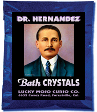 Lucky Mojo Curio Co.: Doctor Jose Gregorio Hernandez Bath Crystals