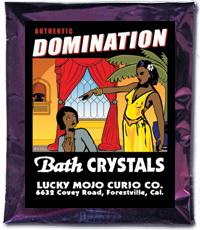 Lucky Mojo Curio Co.: Domination Bath Crystals