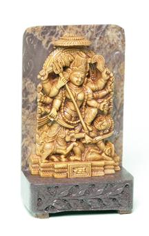 Small-Durga-Statue-at-Lucky-Mojo-Curio-Company