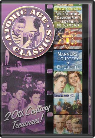Atomic Age Classics, Volume 1: Manners, Courtesy & Etiquette Boxart