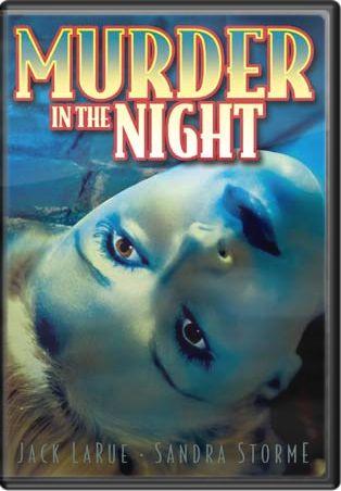 Murder In The Night (aka Murder In Soho) Boxart