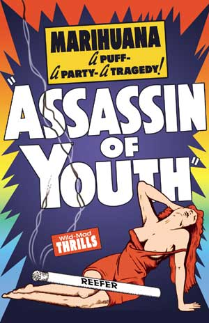 "Assassin of The Youth - Small Poster (11"" x 17"") Boxart"