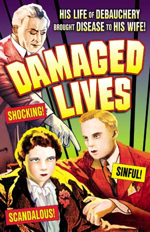 "Damaged Lives - Small Poster (11"" x 17"") Boxart"