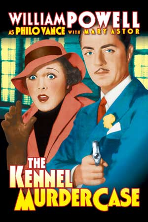 "Kennel Murder Case - Large Poster (17 3/8"" x 26"") Boxart"