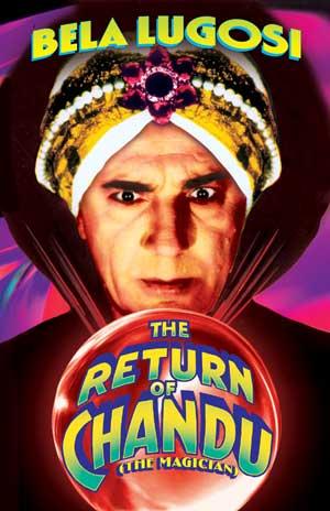 "Return of Chandu - Small Poster (11"" x 17"") Boxart"