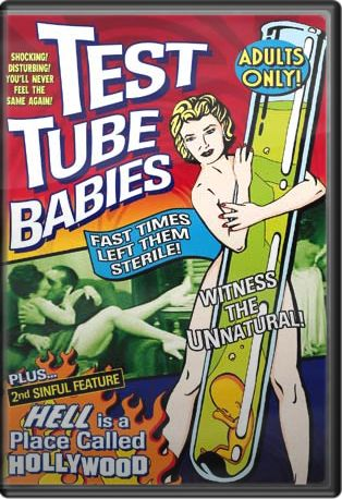 "Test Tube Babies (Plus ""Hell Is A Place Called Hollywood"" Bonus Featurette) Boxart"