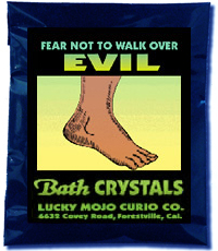 Lucky Mojo Curio Co.: Fear Not To Walk Over Evil Bath Crystals