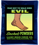 Lucky Mojo Curio Co.: Fear Not To Walk Over Evil Sachet Powder