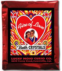 Lucky Mojo Curio Co.: Fire of Love Bath Crystals