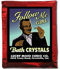 Lucky Mojo Curio Co.: Follow Me Girl Bath Crystals