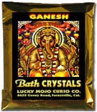 Lucky Mojo Curio Co.: Ganesh Bath Crystals