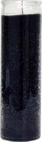 Plain-Black-No-Label-Glass-Vigil-Candle-Fixed-at-the-Lucky-Mojo-Curio-Company-in-Forestville-California