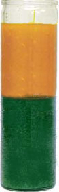glass-candle-plain-gold-green