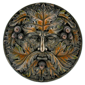 >Green-Man-Plaque-Autumn-at-Lucky-Mojo-Curio-Company