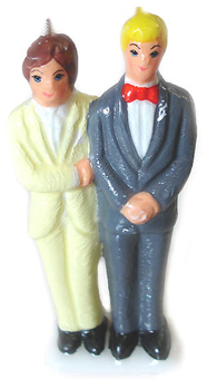 Groom-and-Groom-Figural-Candle-Painted-at-the-Lucky-Mojo-Curio-Company-in-Forestville-California