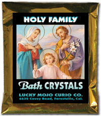 Lucky Mojo Curio Co.: Holy Family (Sagrada Familia) Bath Crystals