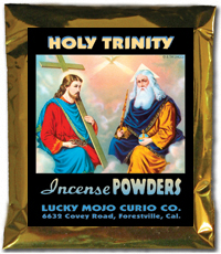 Lucky Mojo Curio Co.: Holy Trinity (Santisima Trinidad) Incense Powders