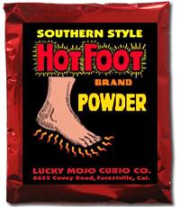 Lucky Mojo Curio Co.: Hot Foot Sachet Powder