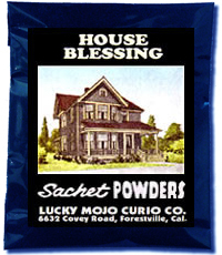 Lucky Mojo Curio Co.: House Blessing Sachet Powder