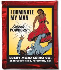 Lucky Mojo Curio Co.: I Dominate My Man Sachet Powder
