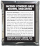 Incense-Powders-Base-Brown-Unscented-at-Lucky-Mojo-Curio-Company-in-Forestville-California