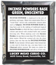Incense-Powders-Base-Green-Unscented-at-Lucky-Mojo-Curio-Company-in-Forestville-California