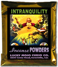Lucky Mojo Curio Co.: Intranquility Incense Powder