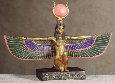 Isis-Kneeling-with-Open-Wings-Statue-at-Lucky-Mojo-Curio-Company