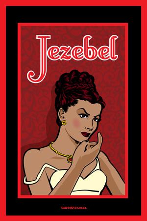Lucky Mojo Curio Co.: Jezebel Glass Encased Vigil Light Candle