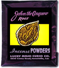Lucky Mojo Curio Co.: John the Conqueror Incense Powder