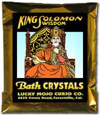Lucky Mojo Curio Co.: King Solomon Wisdom Bath Crystals