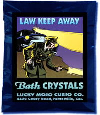Lucky Mojo Curio Co.: Law Keep Away Bath Crystals