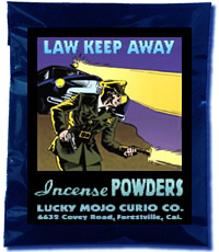 Lucky Mojo Curio Co.: Law Keep Away Incense Powder