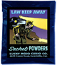 Lucky Mojo Curio Co.: Law Keep Away Sachet Powder