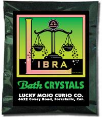Lucky Mojo Curio Co.: Libra Bath Crystals