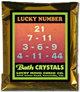 Lucky Mojo Curio Co.: Lucky Number Bath Crystals