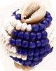 Macuto-Yemaya-Cowrie-Shells-Blue-and-Clear-Beads-at-Lucky-Mojo-Curio-Company