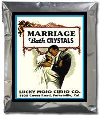 Lucky Mojo Curio Co.: Marriage Bath Crystals