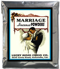 Lucky Mojo Curio Co.: Marriage Incense Powder