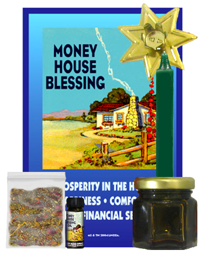 Lucky-Mojo-Curio-Co.-Money-House-Blessing-Magic-Ritual-Hoodoo-Rootwork-Conjure-Honey-Jar-Spell-Kit