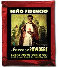 Lucky Mojo Curio Co.: Nino Fidencio Incense Powders