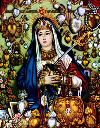 Empty-Catholic-Bottle-Spell-Our-Lady-Maria-Dolorosa-Lucky-Mojo-Curio-Company-in-Forestville-California