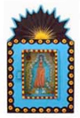 Painted-Tin-Nicho-Retablo-With-Assorted-Holy-Cards-at-Lucky-Mojo-Curio-Company