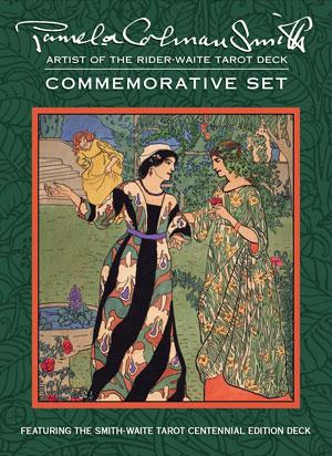 Pamela-Colman-Smith-Commemorative-Set-at-the-Lucky-Mojo-Curio-Company-in-Forestville-California