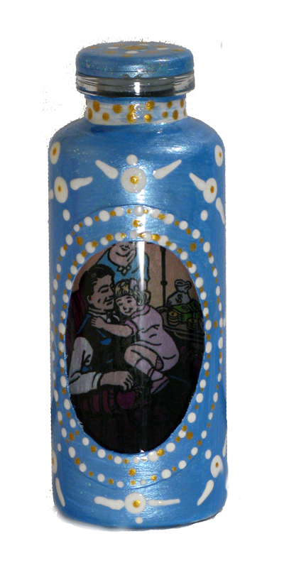 Lucky Mojo Curio Co.: Hoodoo Bottle Spell - Peaceful Home