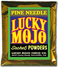 Pine-Needle-Sachet-Powders-at-Lucky-Mojo-Curio-Company-in-Forestville-California