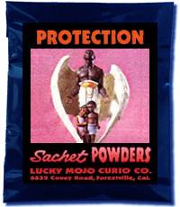Lucky Mojo Curio Co.: Protection Sachet Powder